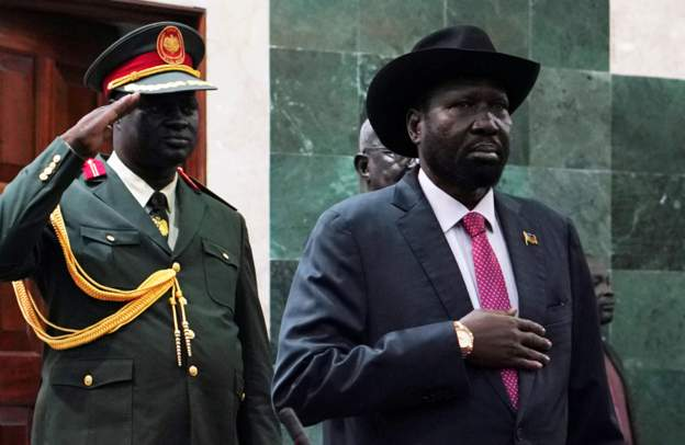 South Sudan's leader sorry for government's failures