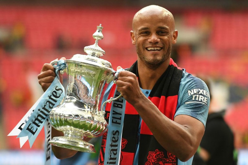 Vincent Kompany leaves Man City to become Anderlecht player-manager