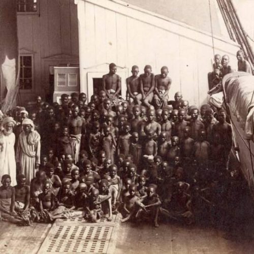 Ship which transported African slaves 'discovered'