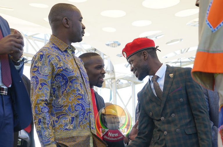 Zim State agents harass Ugandan opposition leader as he arrives for MDC congress