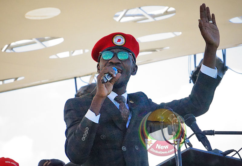 Zim bans Ugandan activist musician Bobi Wine from singing for MDC