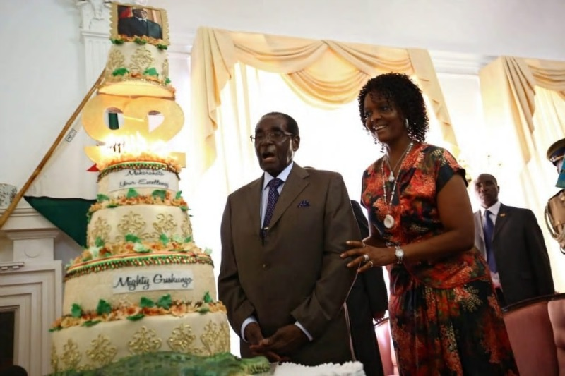 Pensioners demand funds 'robbed' for Mugabe birthday bash
