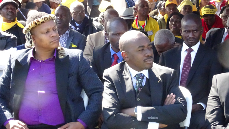 Chamisa barred from Dabengwa memorial VIP tent