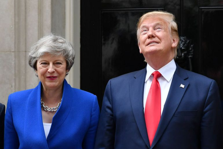 Trump praises 'extraordinary' US-UK alliance on state visit