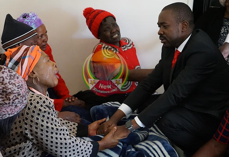 Images: Emotional scenes at late Tsvangirai daughter's funeral