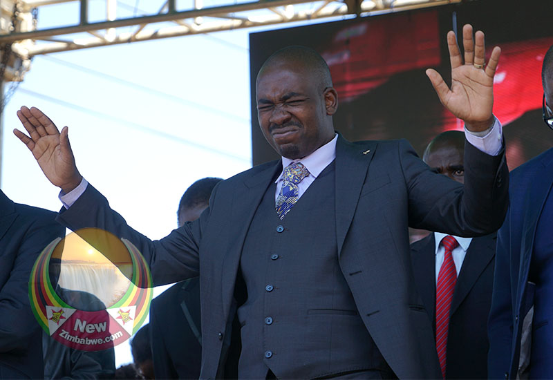 Chamisa: We went into GNU with no plan, sat and ate