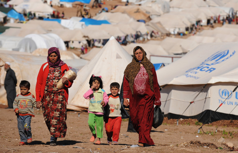 More than 70 million displaced worldwide, says UNHCR