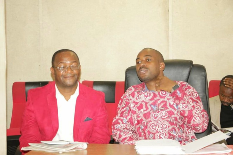I did not demote Mwonzora, Chamisa says while defending Mahere appointment