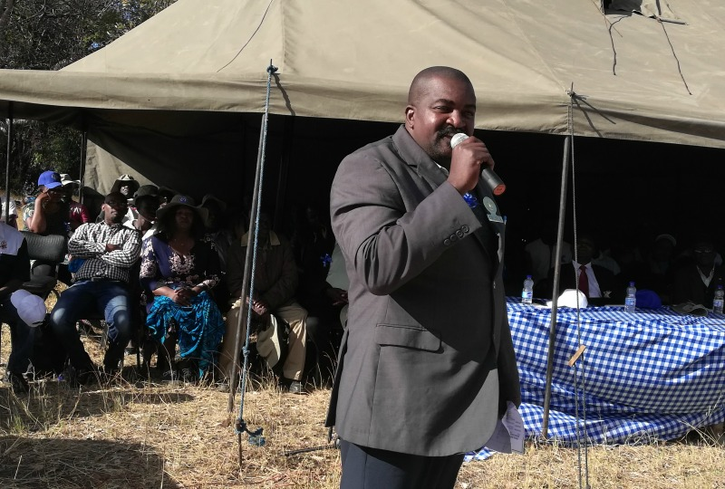 Chief wants illegal land occupants to vacate land
