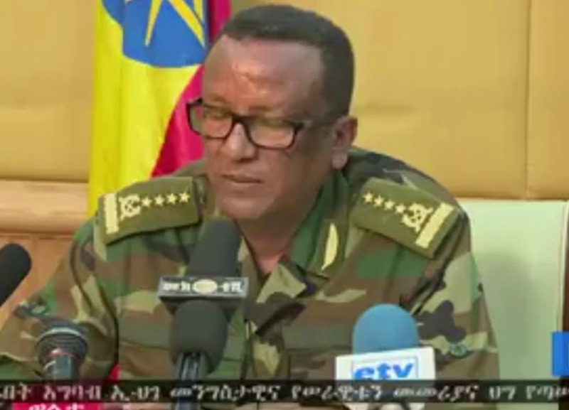 Ethiopia army chief shot dead in 'coup bid' attacks