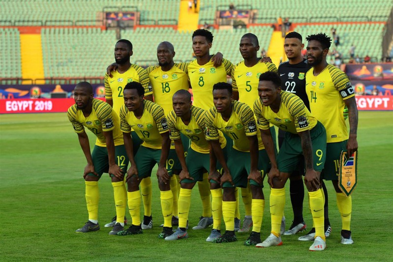 South Africa's Bafana Bafana stun Afcon hosts in last 16