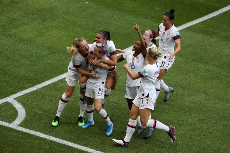 USA beats Netherlands to win World Cup Women's Football