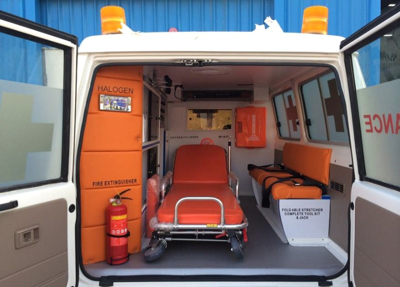 Report: Over half of country's ambulance fleet down