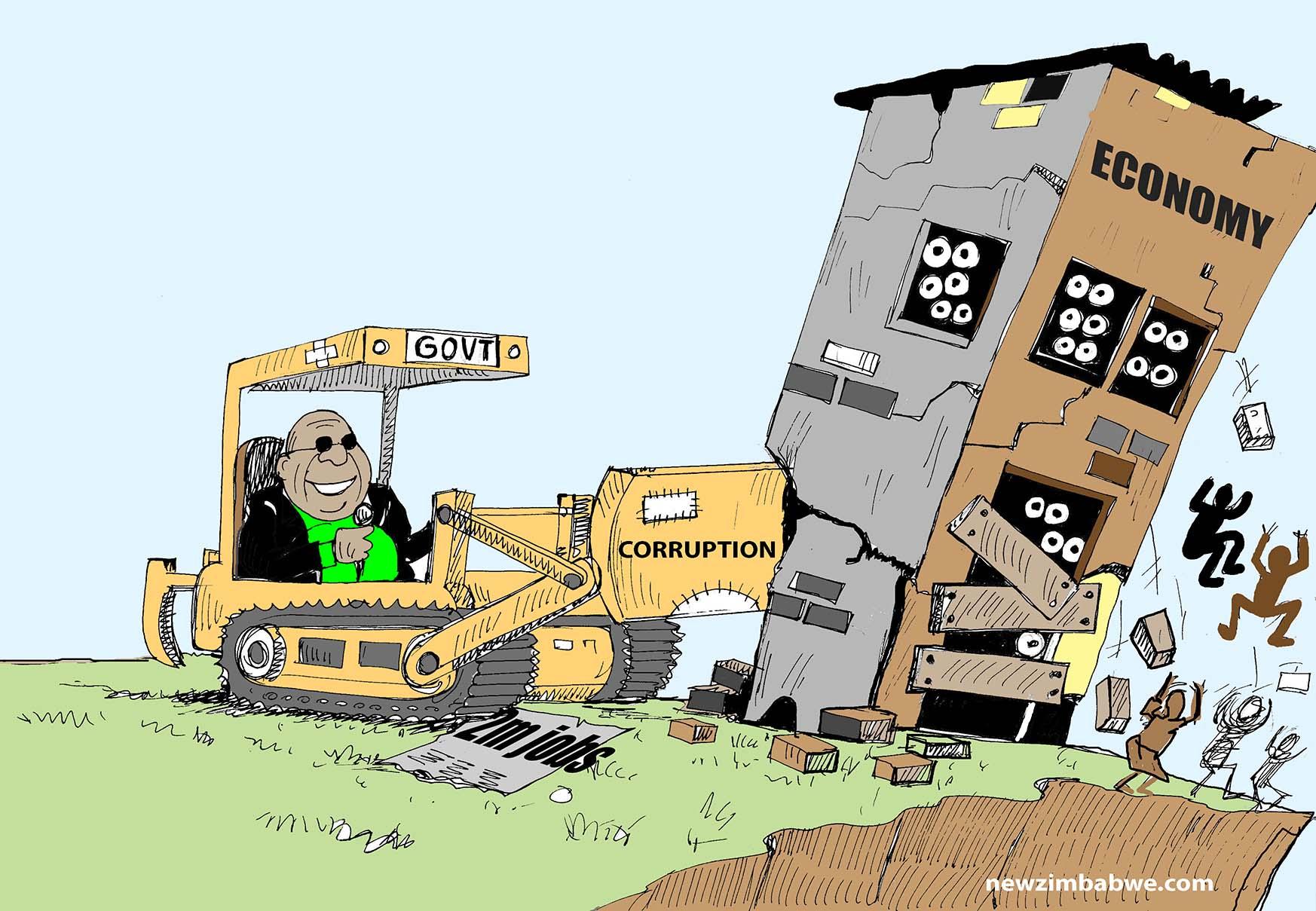 Govt, corruption and the economy