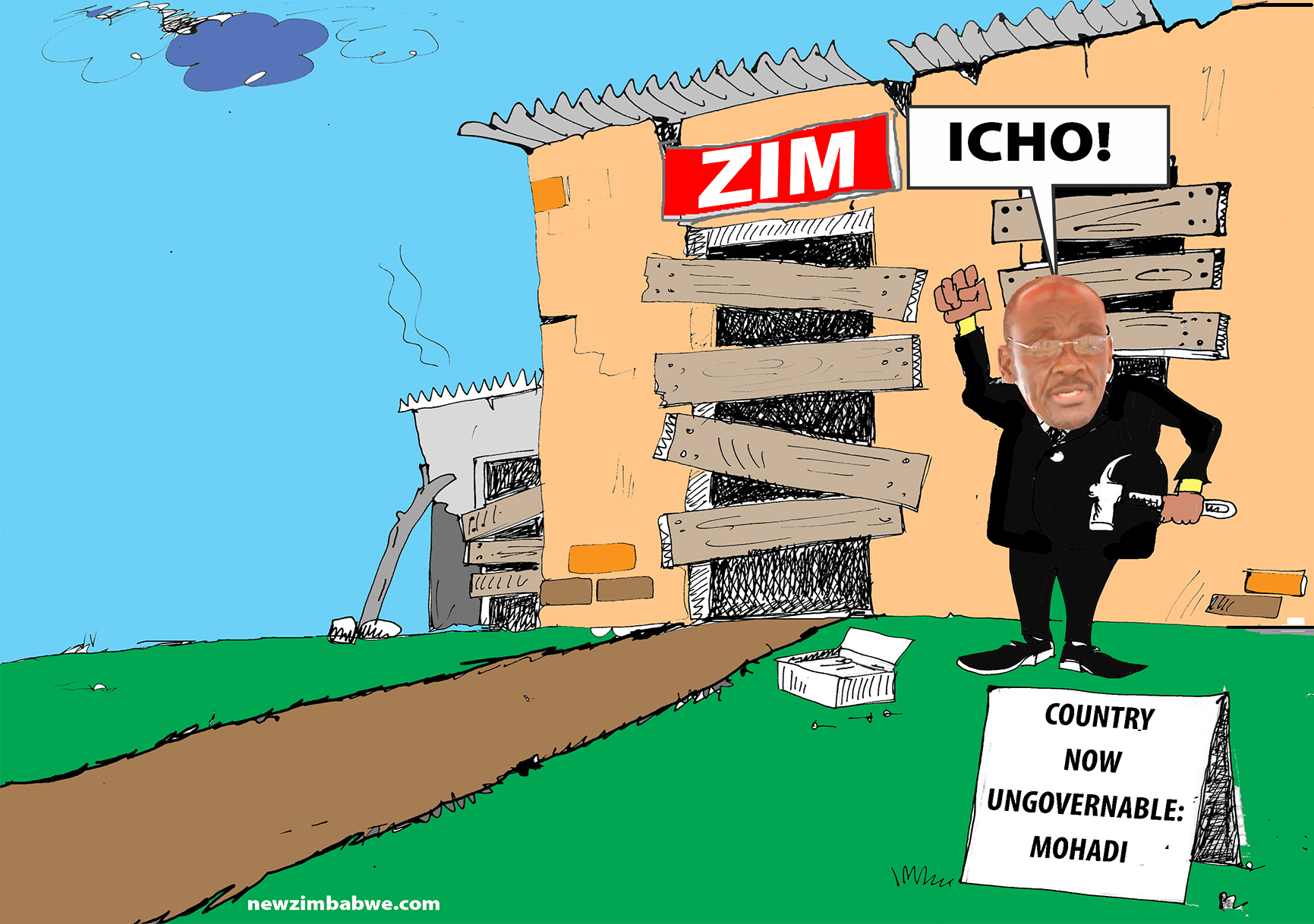 Zim now ungorvenable-Mohadi