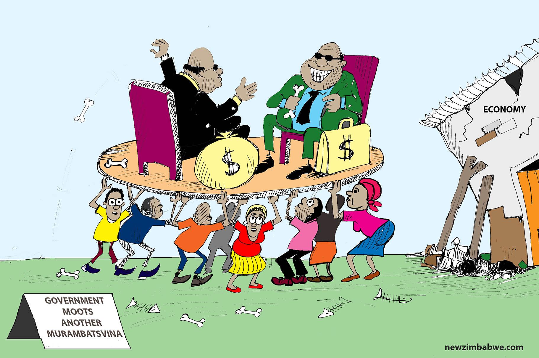 Govt moots another Murambatsvina