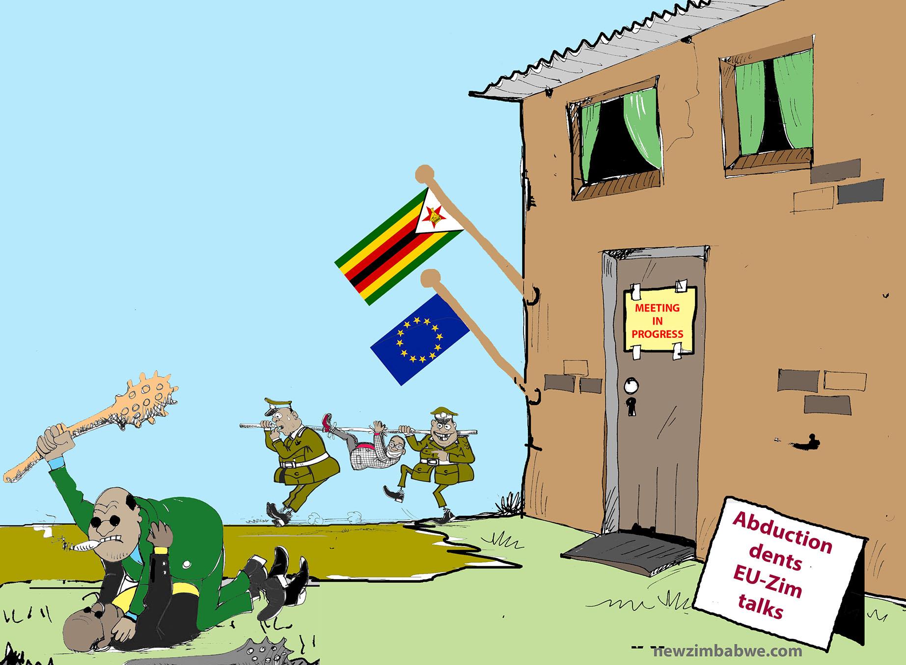EU-Zim talks in progress