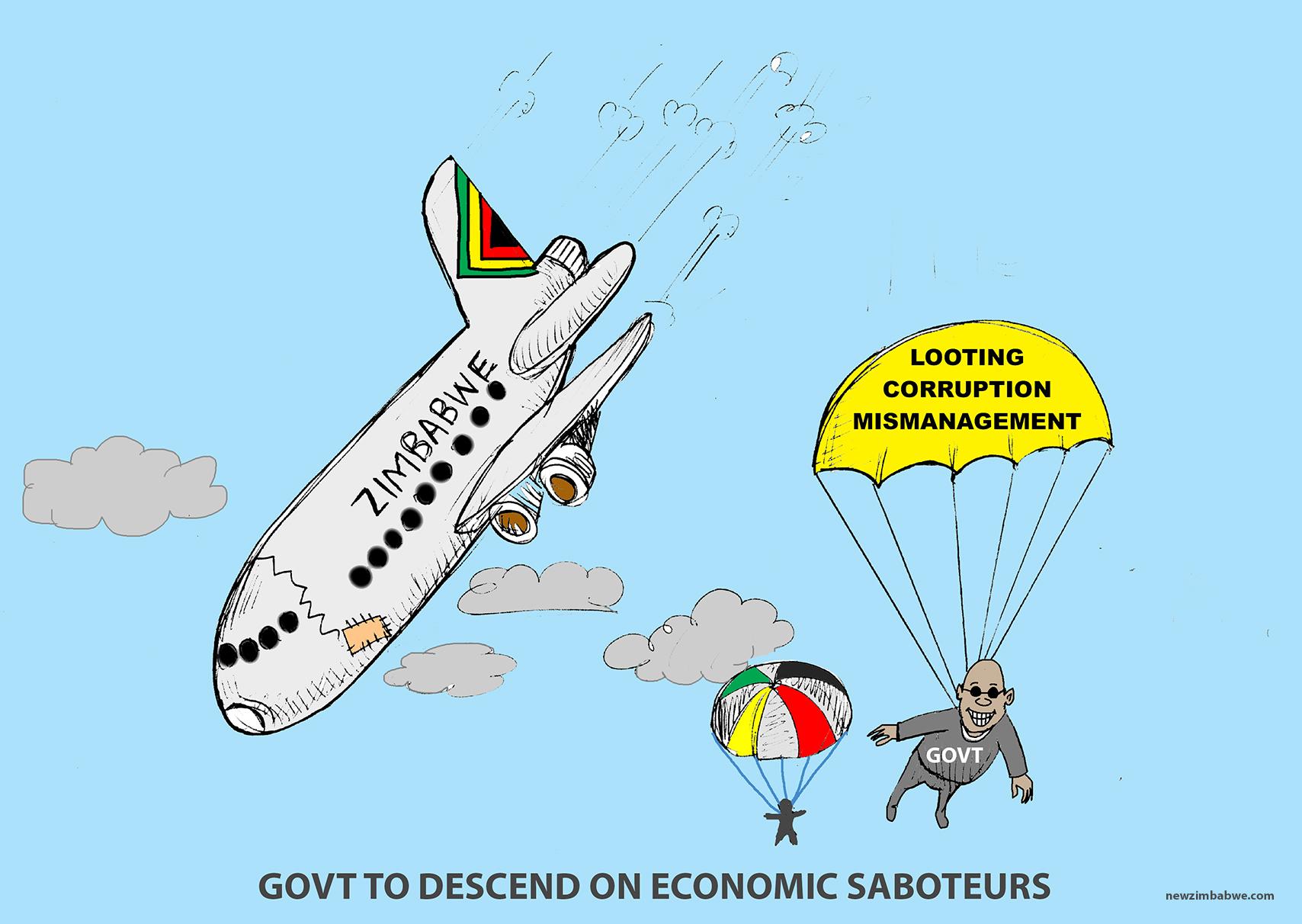 Govt to descend on economic saboteurs