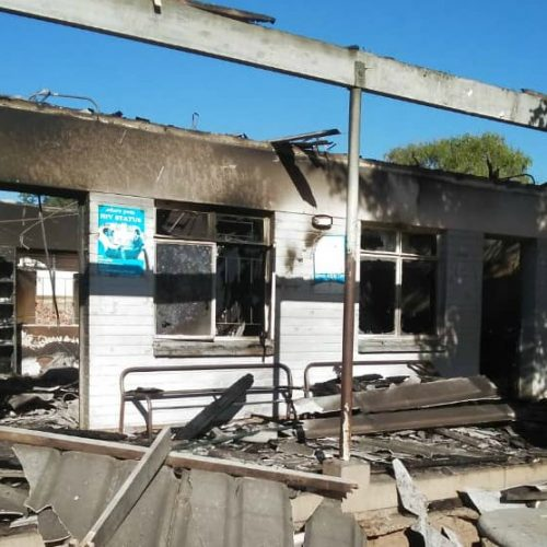 Boost for St Luke's Hospital after fire incident