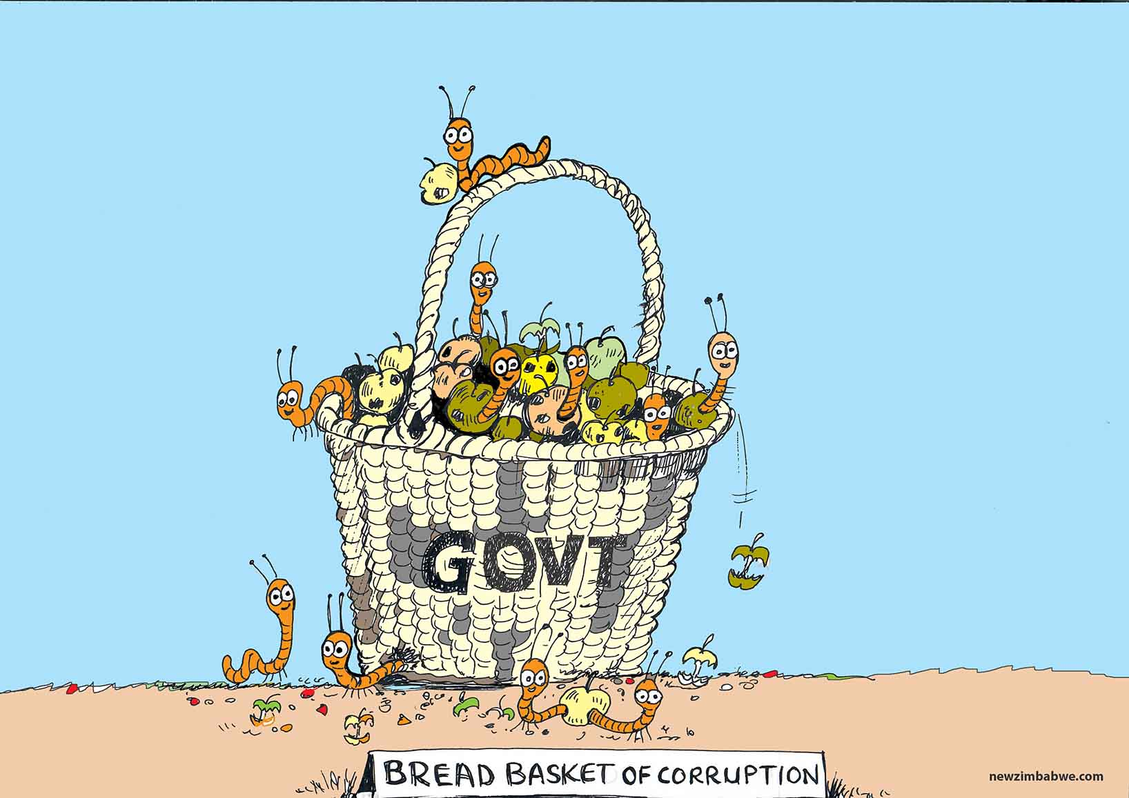 Bread basket of corruption