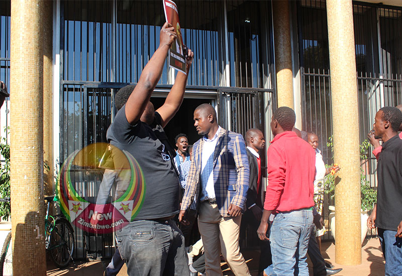Fresh tensions rose following Zengeza West MP Job Sikhala's arrest and youths demonstrated at court