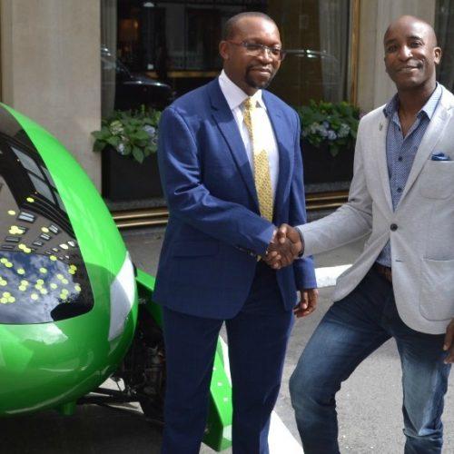 Zim entrepreneur launches Europe's first autonomous delivery vehicle