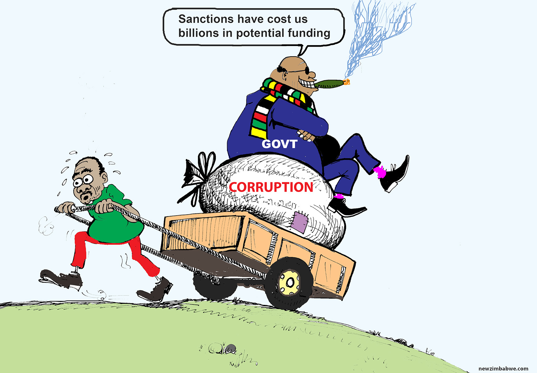 Sanctions cost Zim billions
