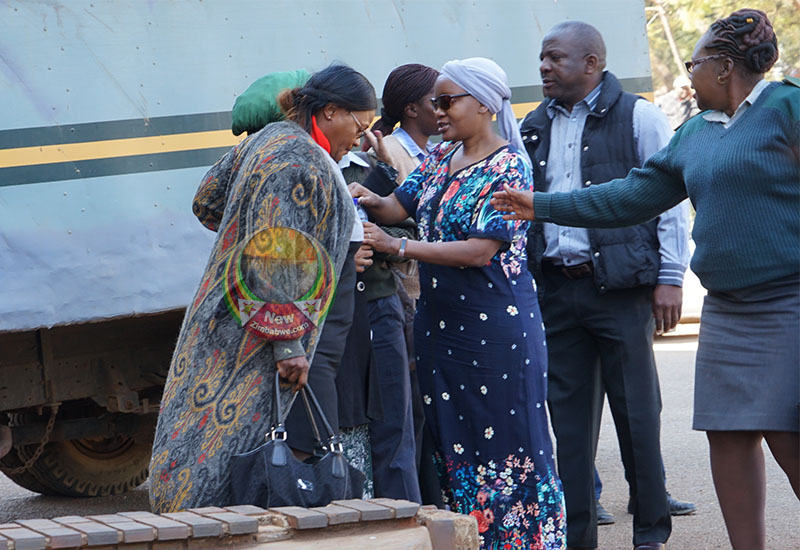 Mupfumira court appearance in pictures