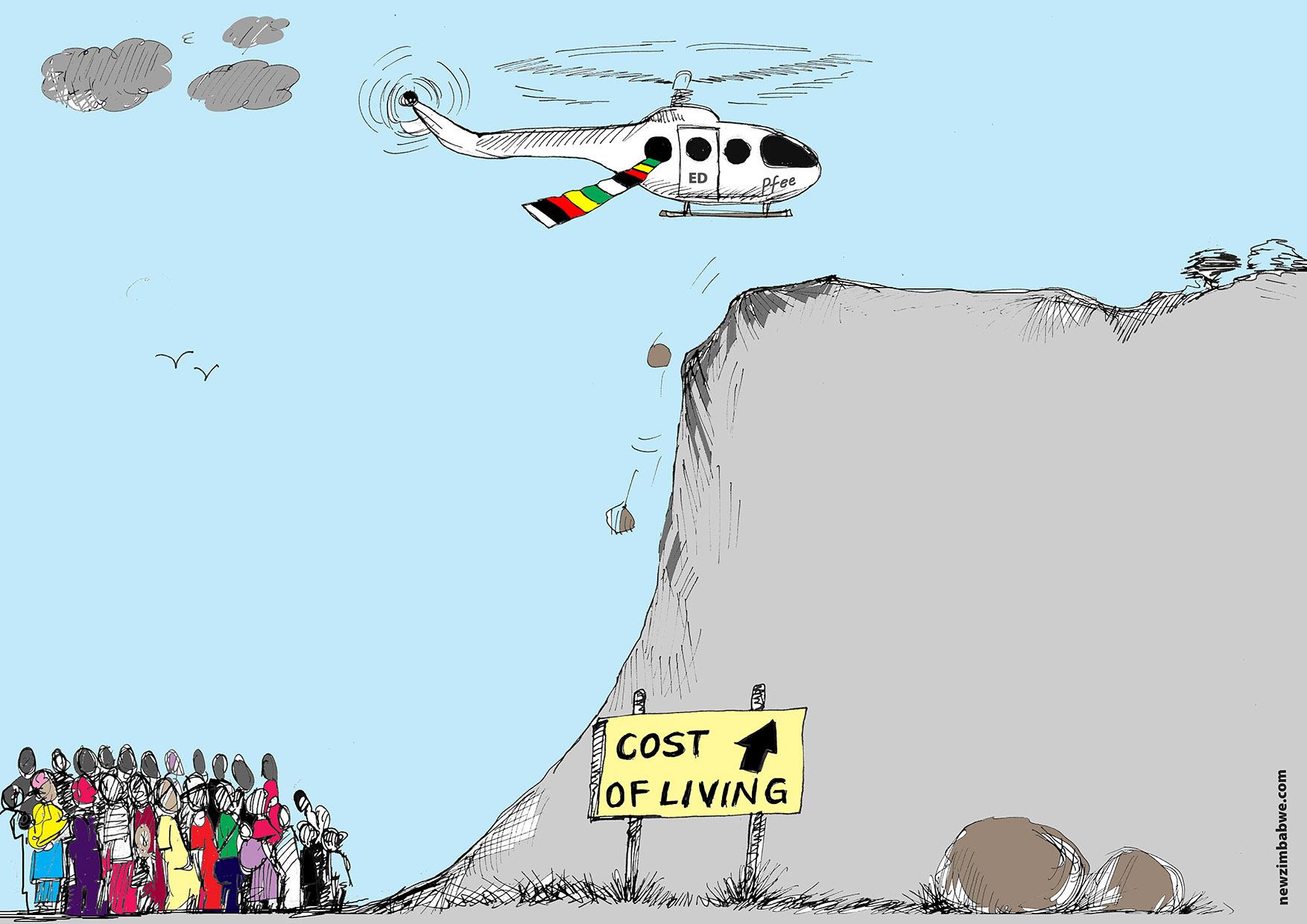Zim cost of living