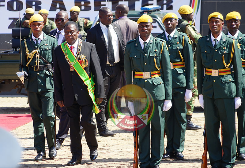 AI: Mnangagwa's horror first year in office, marked by repression