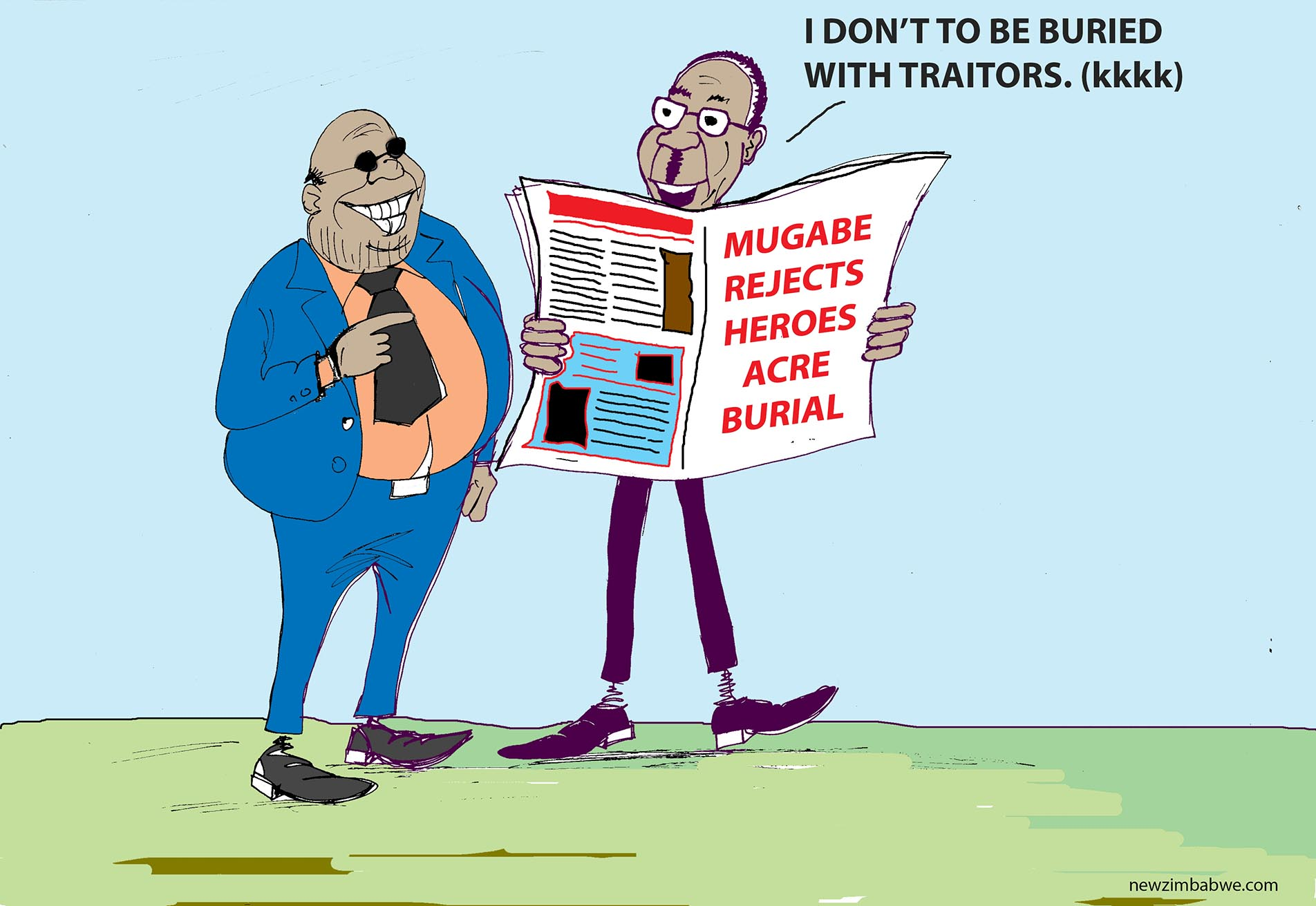 Mugabe rejects heroes acre