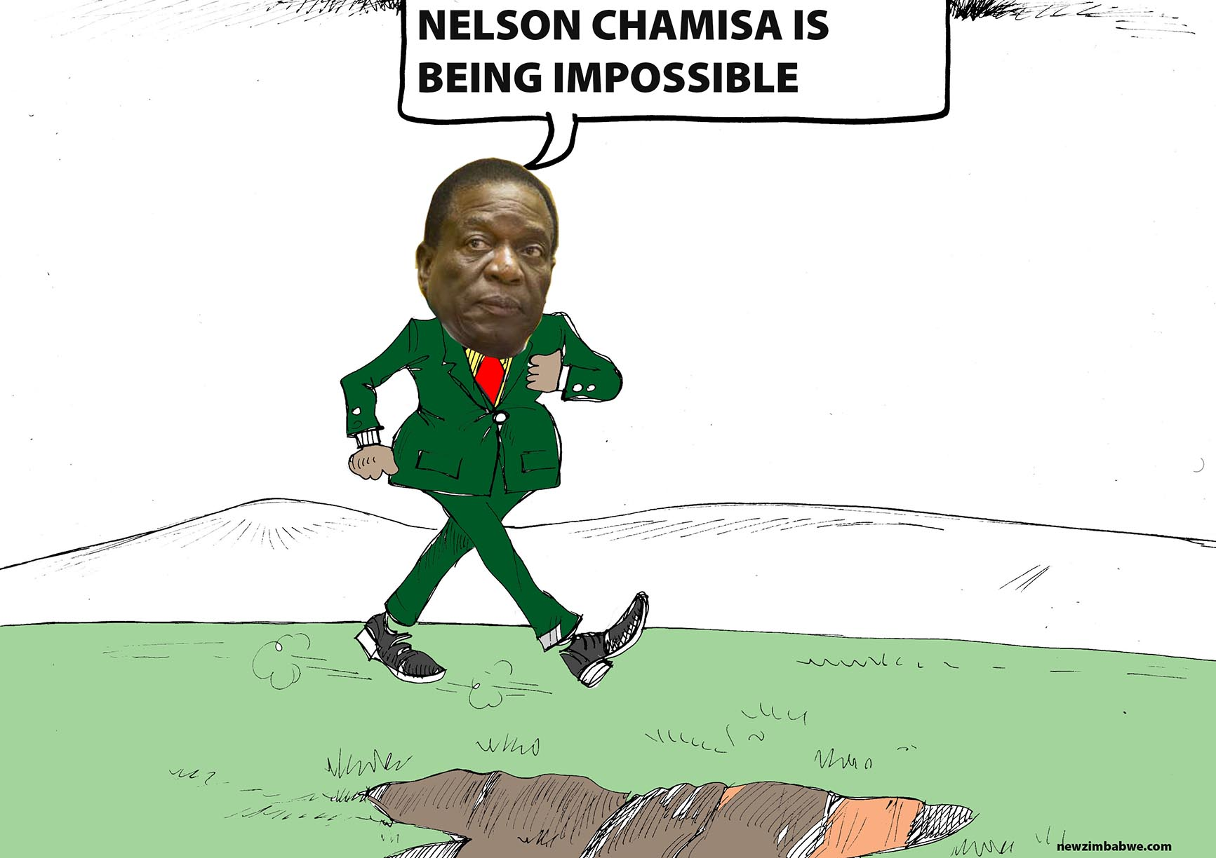 Chamisa is being impossible