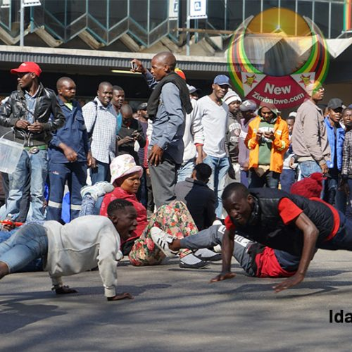 27 MDC supporters in court over violent demo