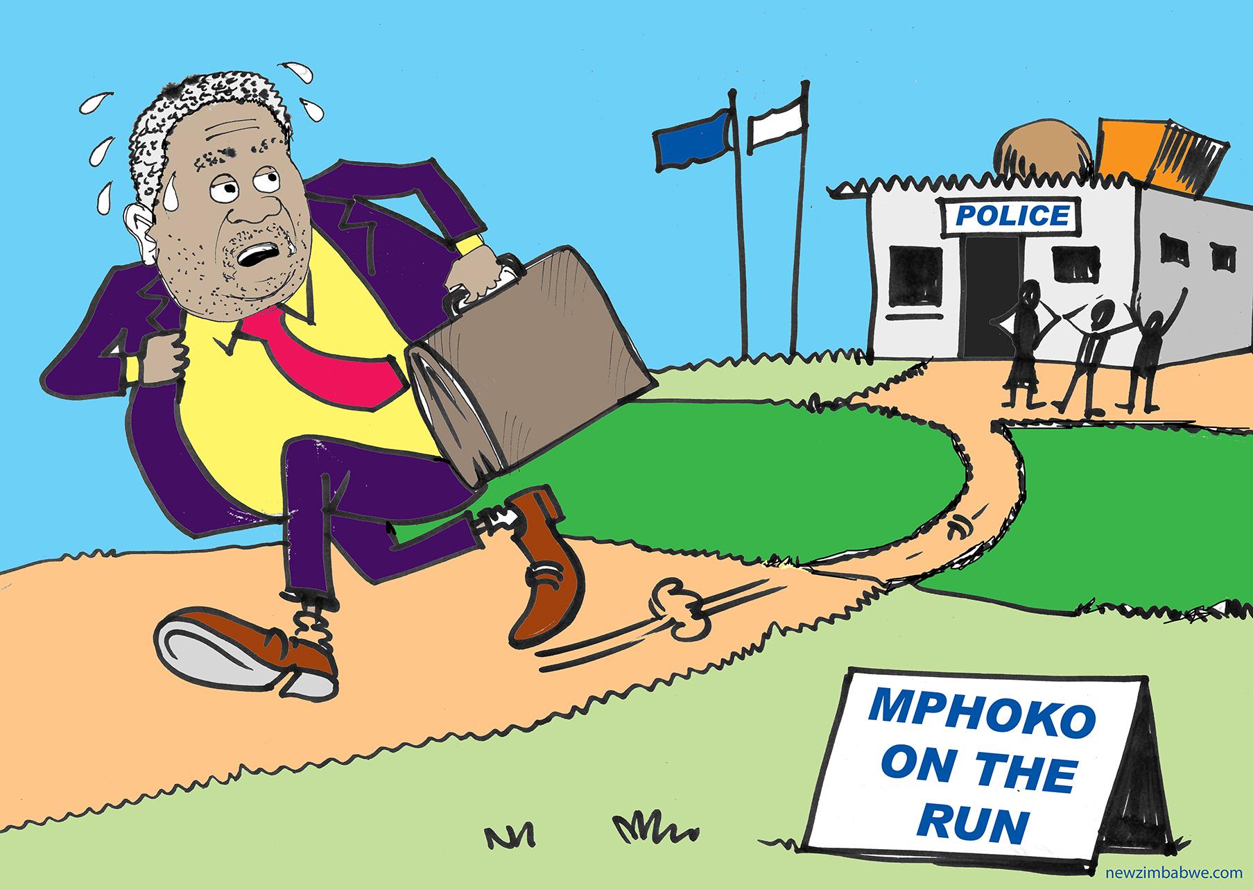 Mphoko on the run