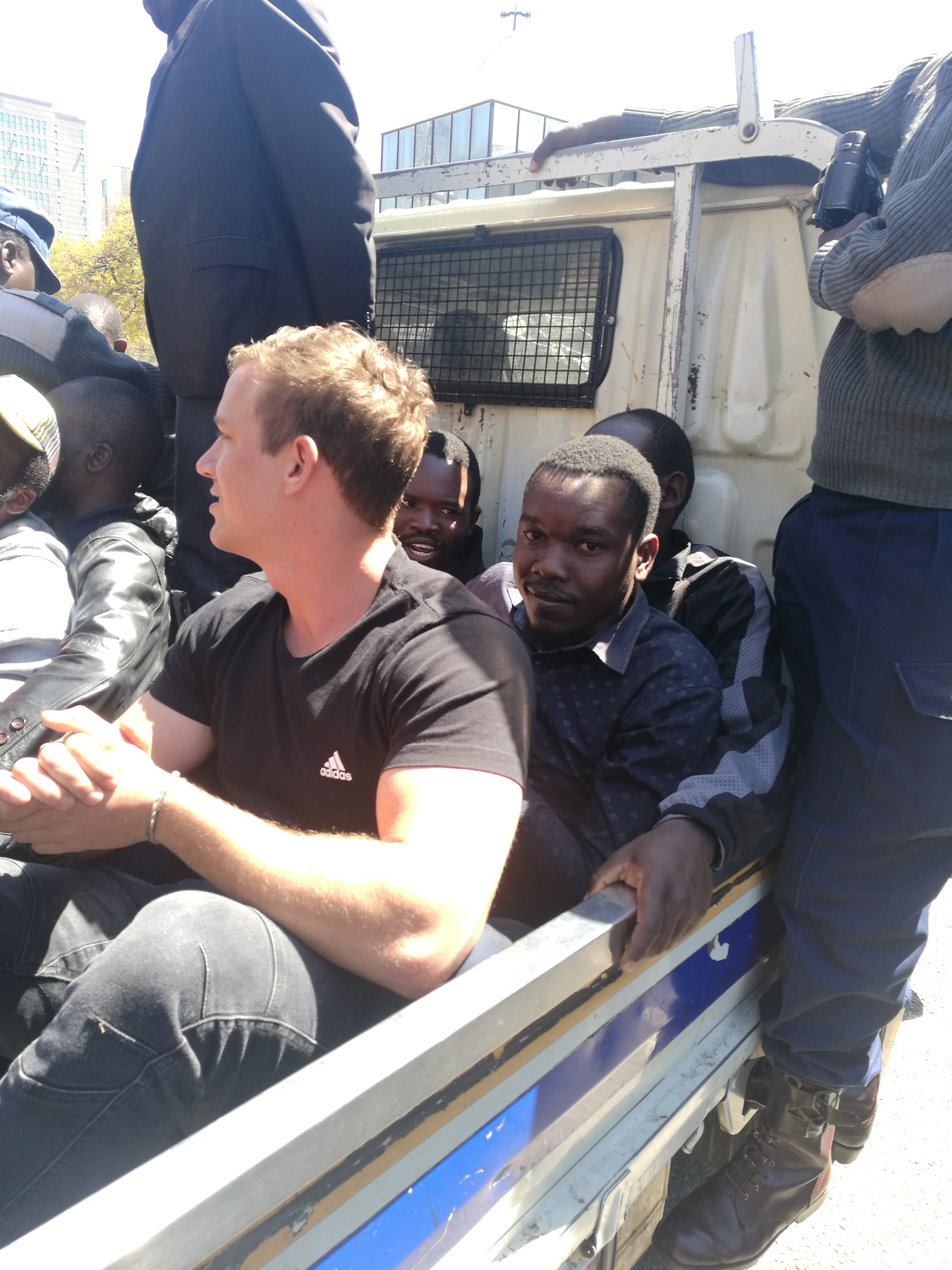 NewZimbabwe.com reporter arrested while covering teachers demo