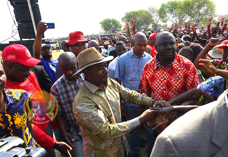 Bitterness will not make you better, Chamisa tells restive supporters