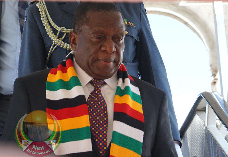 Mnangagwa faces protests in New York