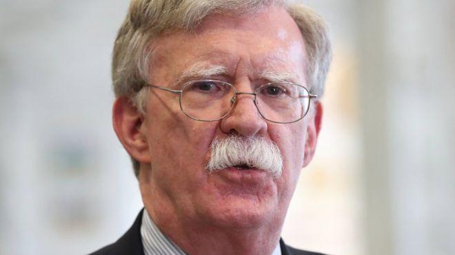 John Bolton: Trump sacks national security adviser