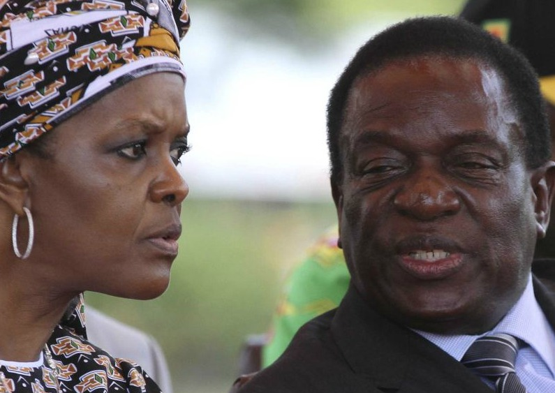 Mnangagwa hints harbouring no Grace revenge intentions