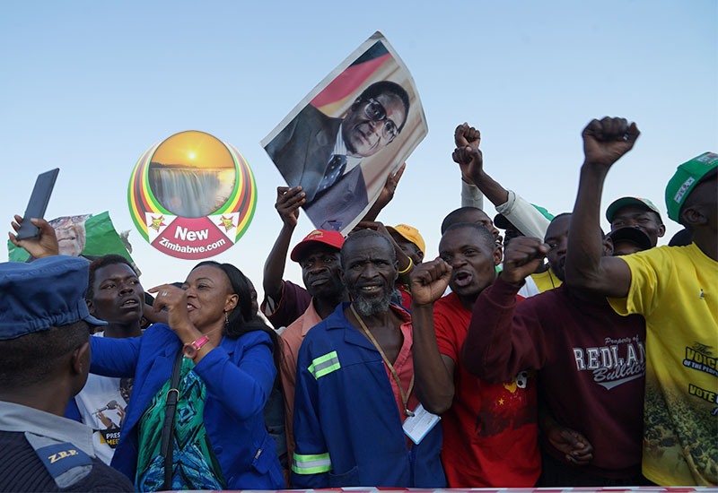 You killed Mugabe, mourners chant at ED government