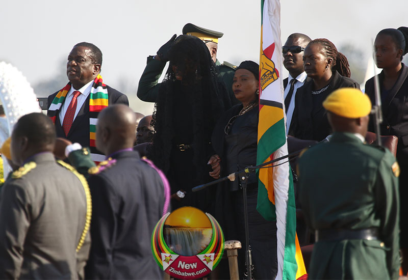 Images captured during late ex-President Mugabe's arrival