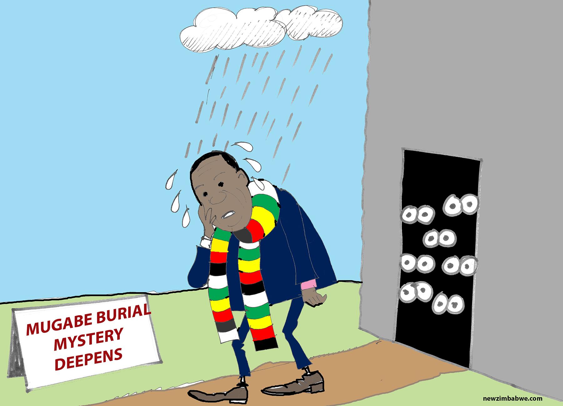 Mugabe burial drama