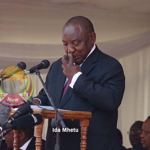 Ramaphosa revisits booing nightmare during Mugabe funeral