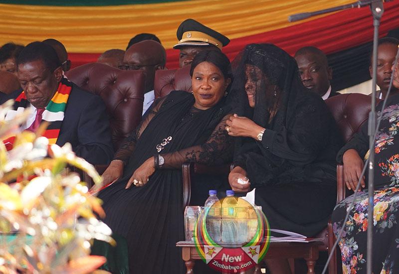 Images captured during ex-President Mugabe's funeral service