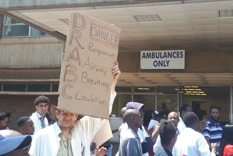 Doctors vow continued strike despite abduction on union leader