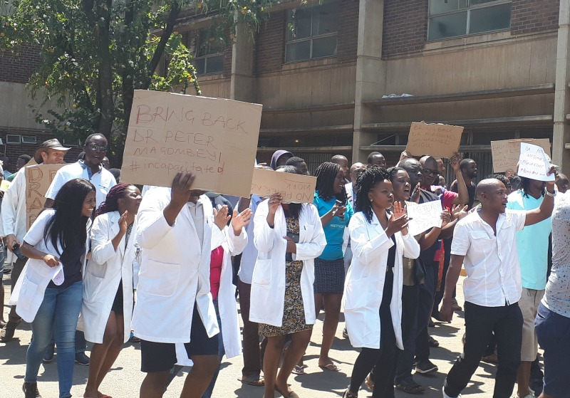 Health Workers threaten to disrupt UZ graduation ceremony