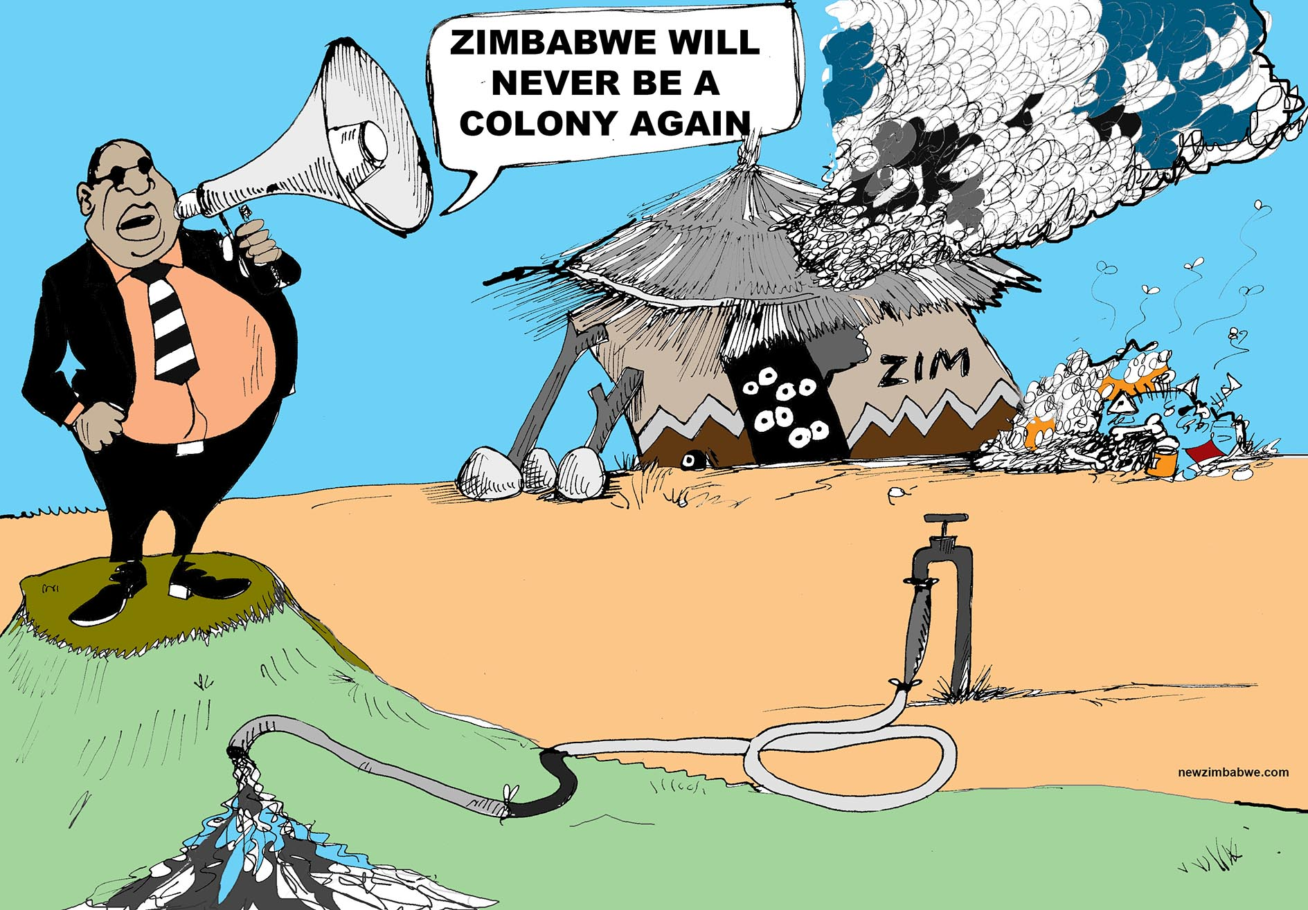Zimbabwe will never be a colony again