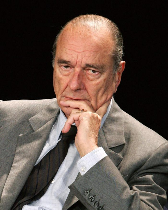 Former French president dies at 86
