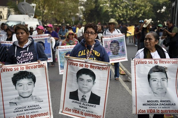43 missing students still haunt Mexico on 5th anniversary of disappearance