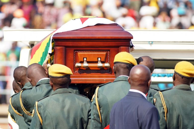 Superstitious Mugabe buried in tamper-proof coffin, feared 'people will use my parts'